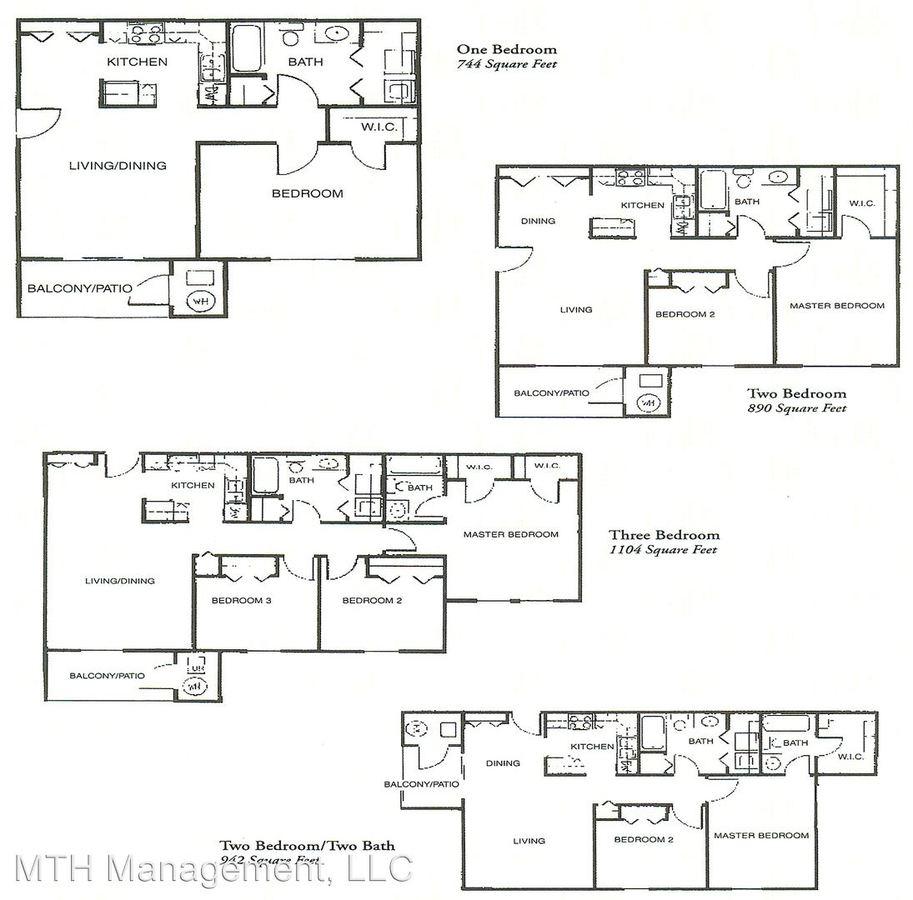 2 Bedrooms 1 Bathroom Apartment for rent at Alana Woods in Dewitt, MI