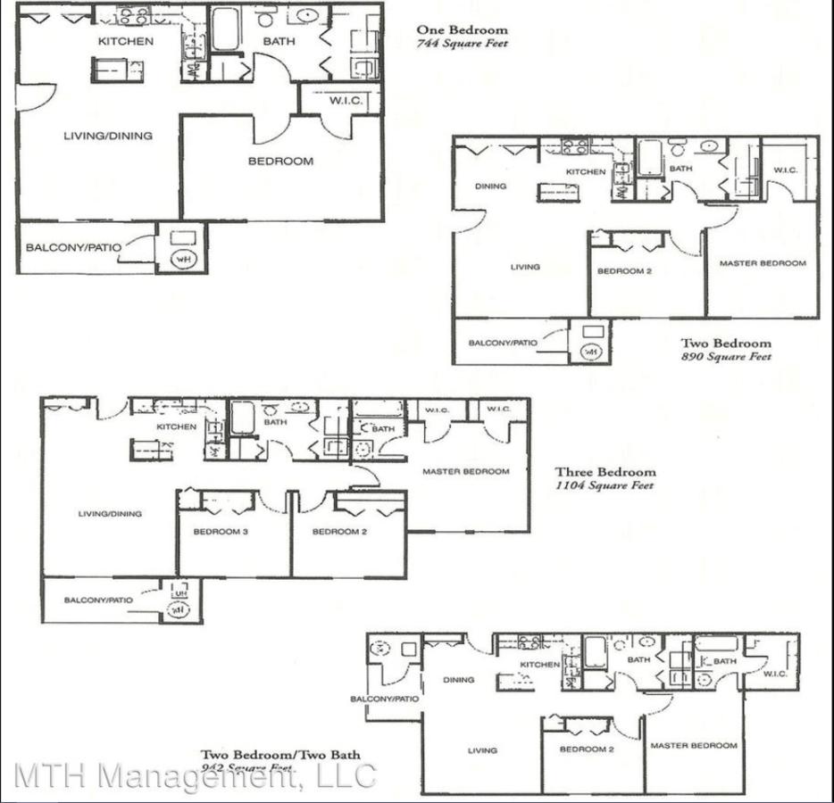 1 Bedroom 1 Bathroom Apartment for rent at Alana Woods in Dewitt, MI