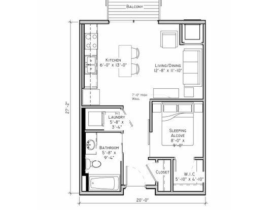 Studio 1 Bathroom Apartment for rent at The Grain Belt in Minneapolis, MN