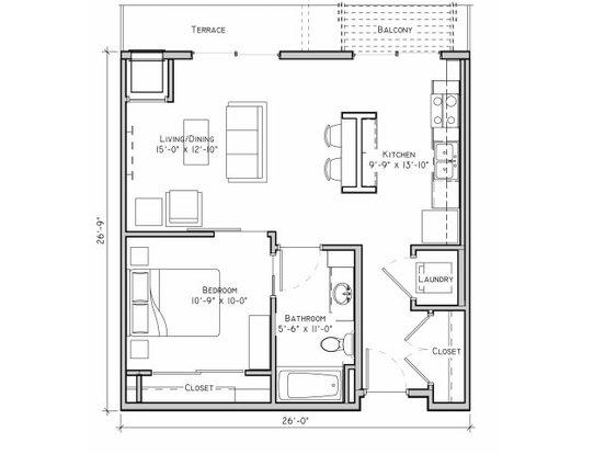 1 Bedroom 1 Bathroom Apartment for rent at The Grain Belt in Minneapolis, MN