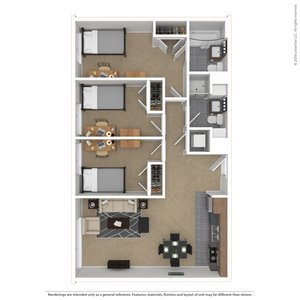 3 Bedrooms 2 Bathrooms Apartment for rent at Skybox - Courtside in Eugene, OR