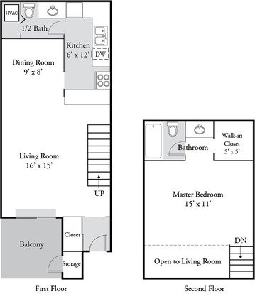 1 Bedroom 2 Bathrooms Apartment for rent at Plainview Apartments in Louisville, KY