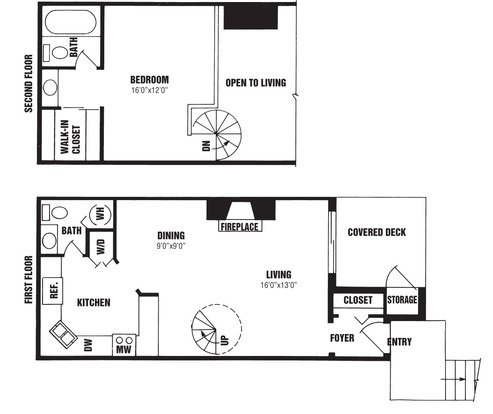 1 Bedroom 2 Bathrooms Apartment for rent at The Willows in Louisville, KY