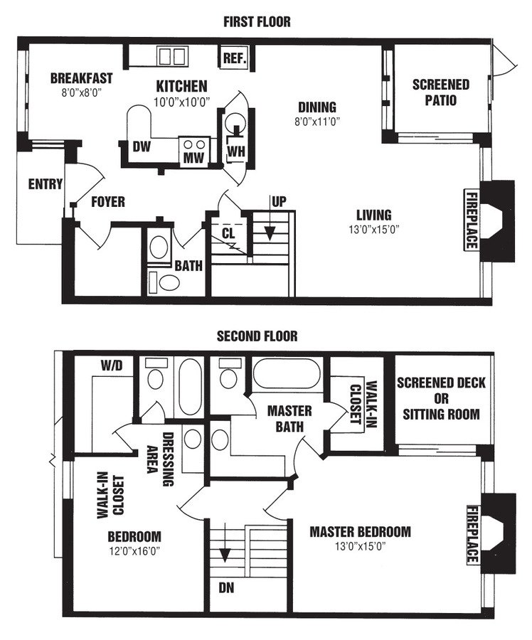 2 Bedrooms 3 Bathrooms Apartment for rent at The Willows in Louisville, KY
