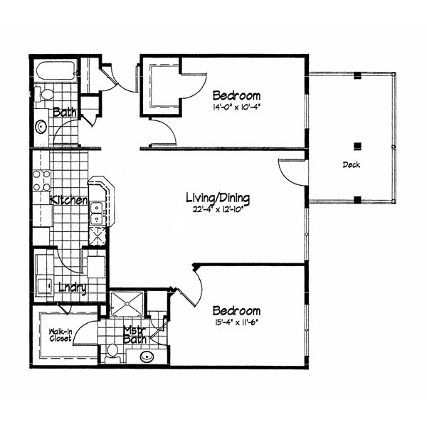 2 Bedrooms 2 Bathrooms Apartment for rent at Cortland Pond in Madison, WI