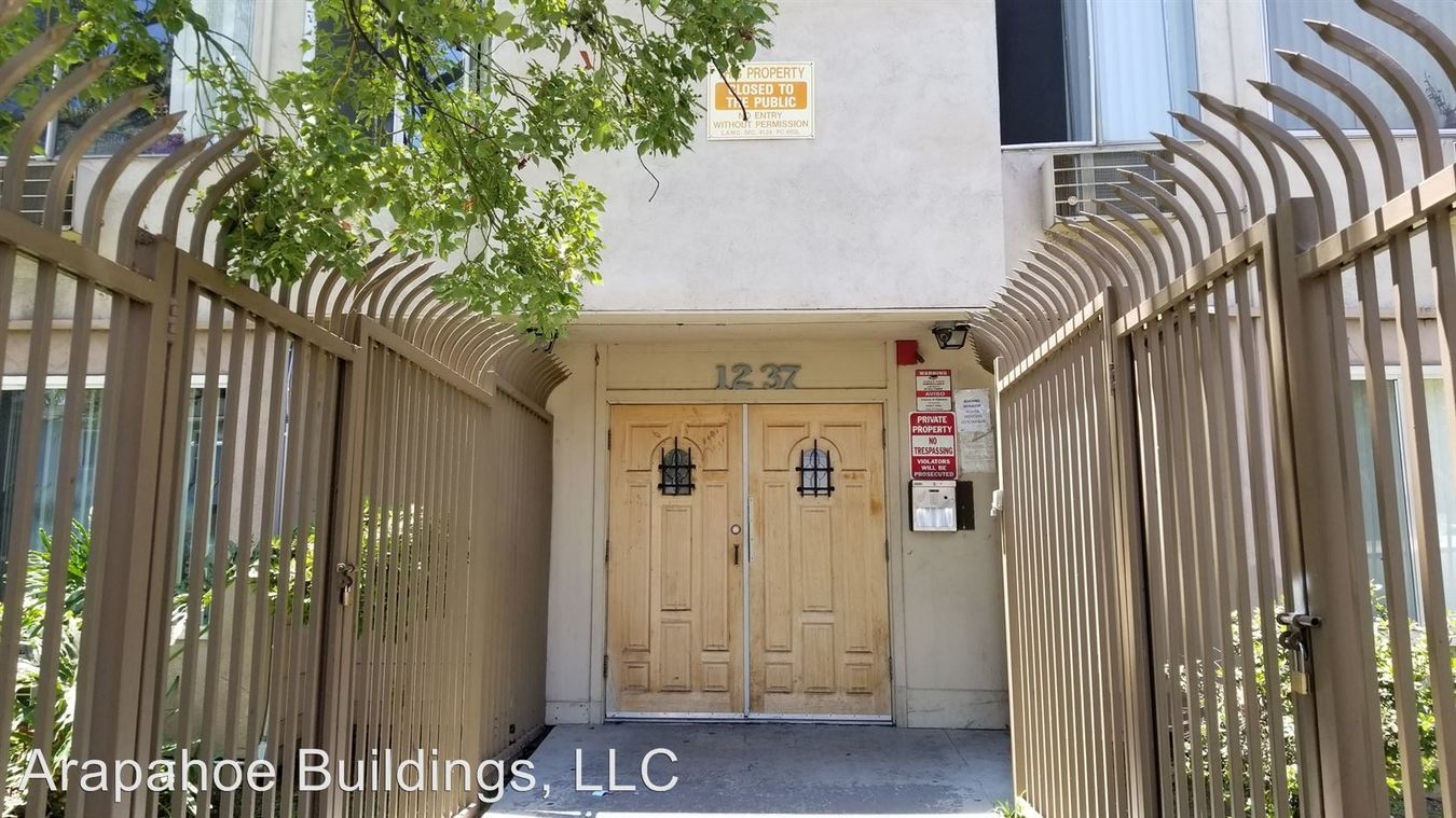 1 Bedroom 1 Bathroom Apartment for rent at 1237 Arapahoe St. in Los Angeles, CA