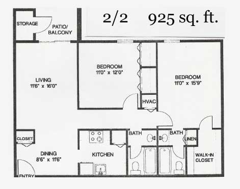 2 Bedrooms 2 Bathrooms Apartment for rent at The Collection At Riverside in Austin, TX