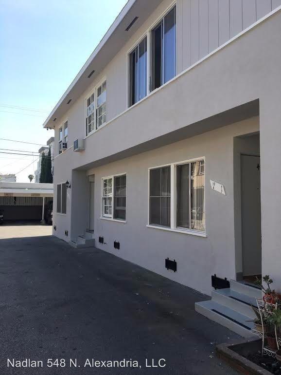 1 Bedroom 1 Bathroom Apartment for rent at 548 N. Alexandria in Los Angeles, CA