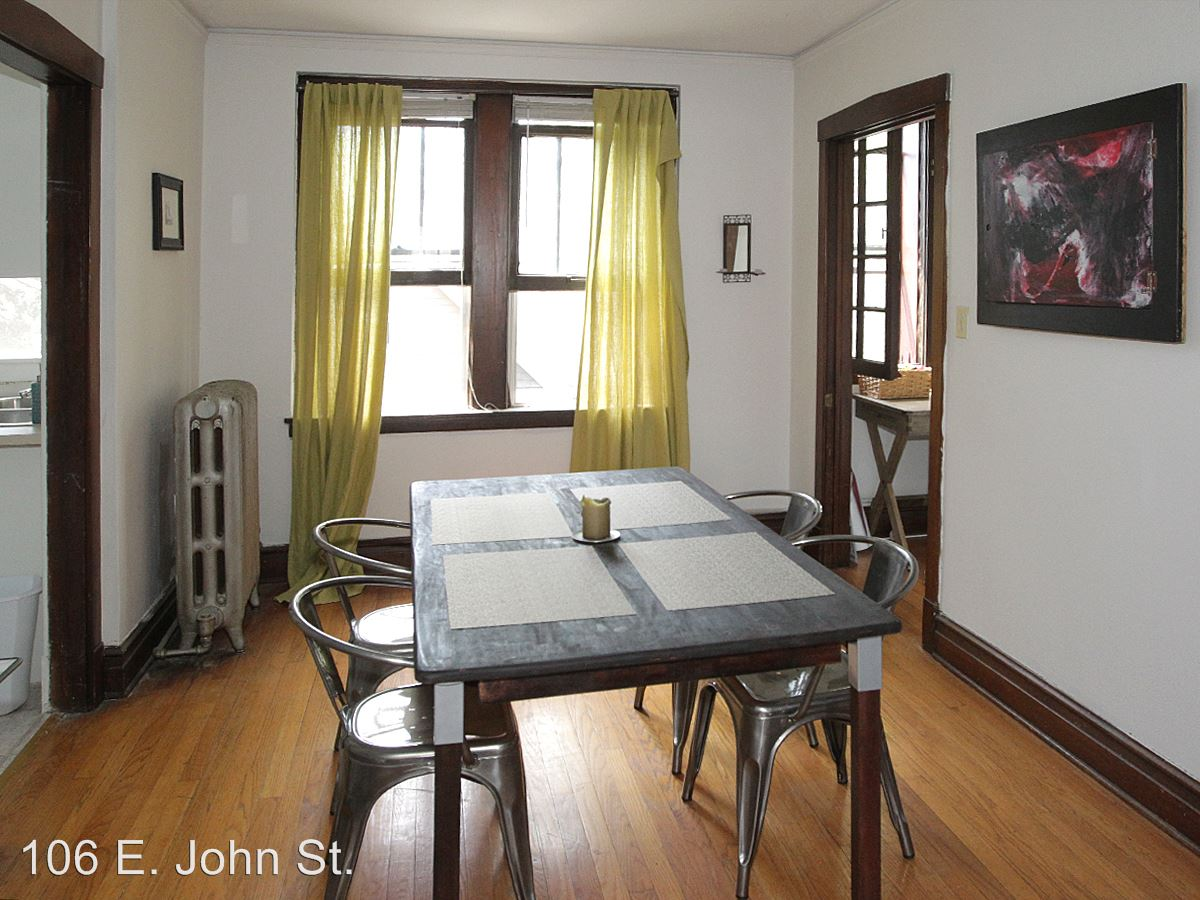 1 Bedroom 1 Bathroom Apartment for rent at 106 E. John St. in Champaign, IL