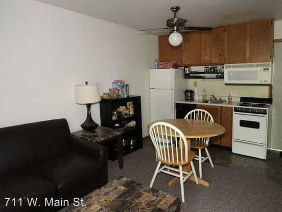 Studio 1 Bathroom Apartment for rent at 711 W. Main St. in Urbana, IL