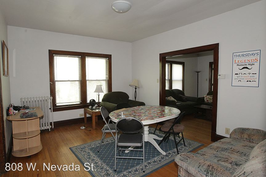 1 Bedroom 1 Bathroom Apartment for rent at 808 W. Nevada St. in Urbana, IL