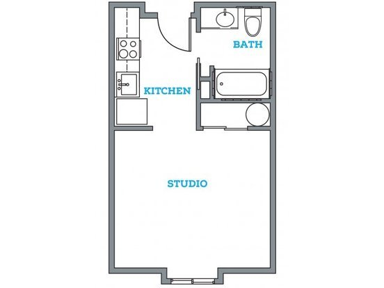 Studio 1 Bathroom Apartment for rent at The Pearl in Eugene, OR