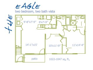 2 Bedrooms 2 Bathrooms Apartment for rent at Albany Landings in Westerville, OH