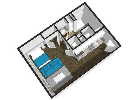 Studio 1 Bathroom Apartment for rent at Soel District Lofts in Springfield, MO