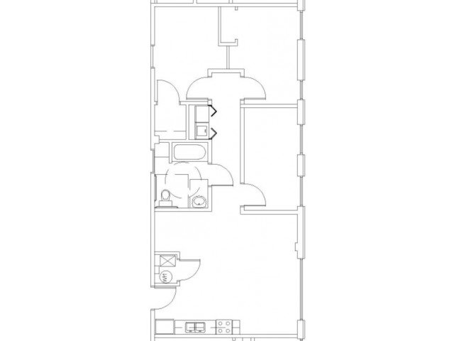 3 Bedrooms 1 Bathroom Apartment for rent at Wilhoit Plaza Lofts in Springfield, MO
