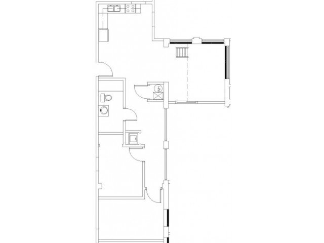 2 Bedrooms 1 Bathroom Apartment for rent at Wilhoit Plaza Lofts in Springfield, MO