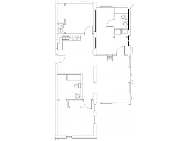 3 Bedrooms 2 Bathrooms Apartment for rent at Wilhoit Plaza Lofts in Springfield, MO
