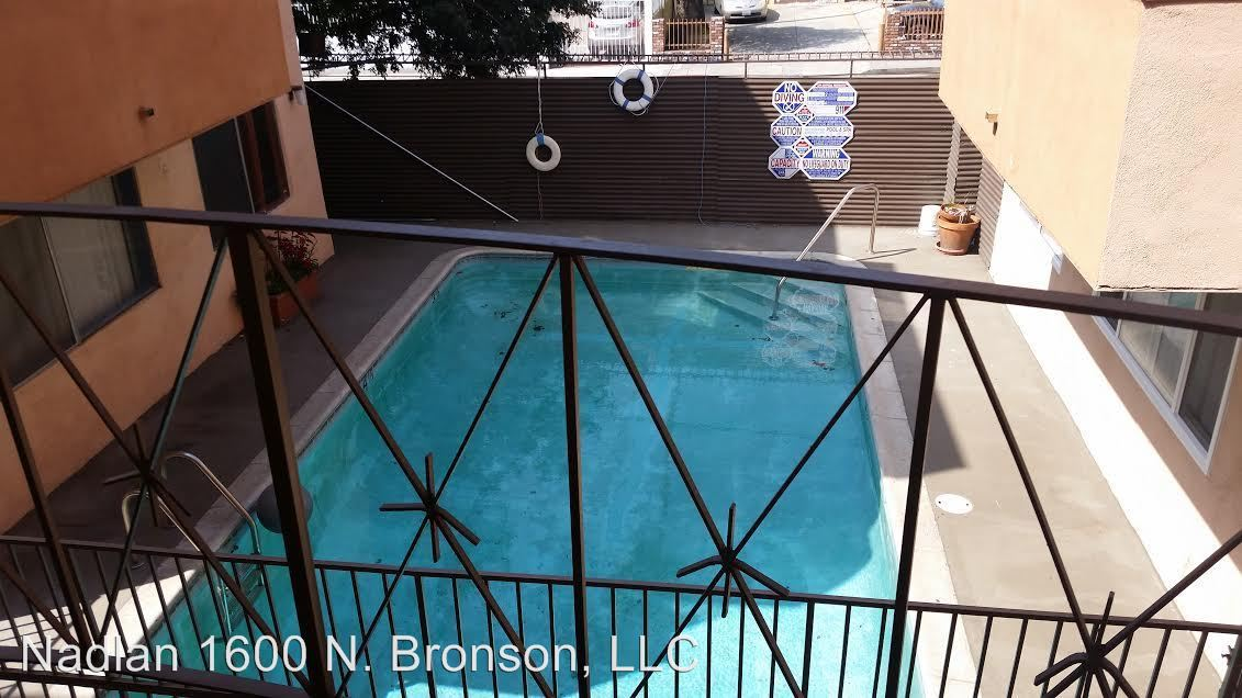 1 Bedroom 1 Bathroom Apartment for rent at 1600 N. Bronson Ave. in Los Angeles, CA