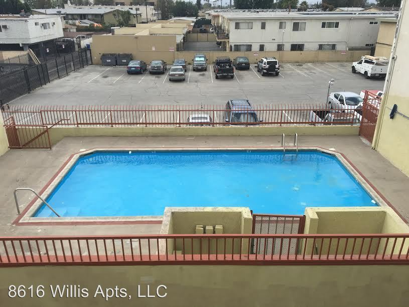 2 Bedrooms 2 Bathrooms Apartment for rent at 8616 Willis Ave. in Panorama City, CA