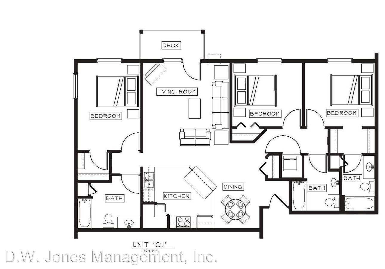 3 Bedrooms 3 Bathrooms Apartment for rent at 4727 Arbor Crossing Se in Alexandria, MN