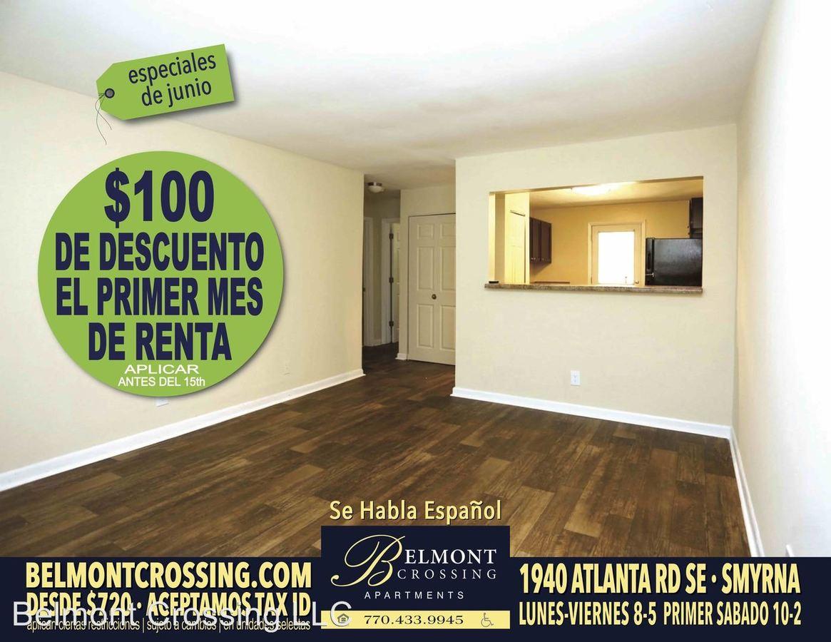 1 Bedroom 1 Bathroom Apartment for rent at 1940 Atlanta Road Se in Smyrna, GA