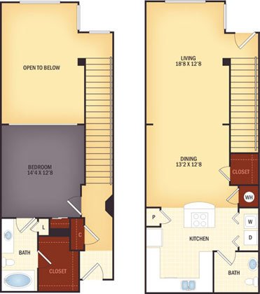 1 Bedroom 1 Bathroom Apartment for rent at Lugano At Cherry Creek in Aurora, CO