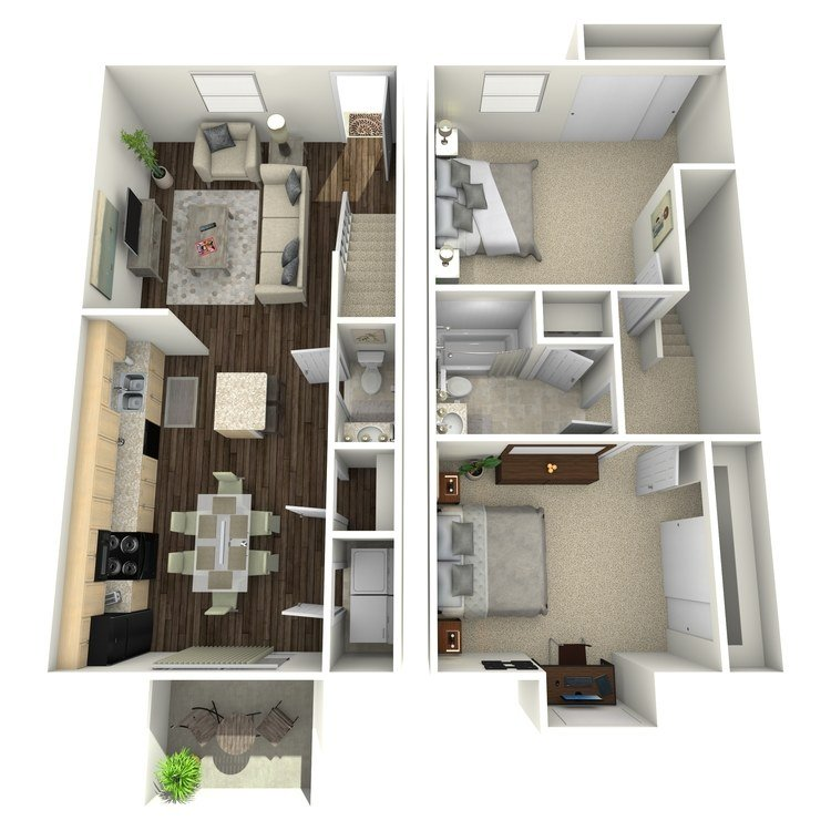 2 Bedrooms 1 Bathroom Apartment for rent at Park Forest in St Louis, MO