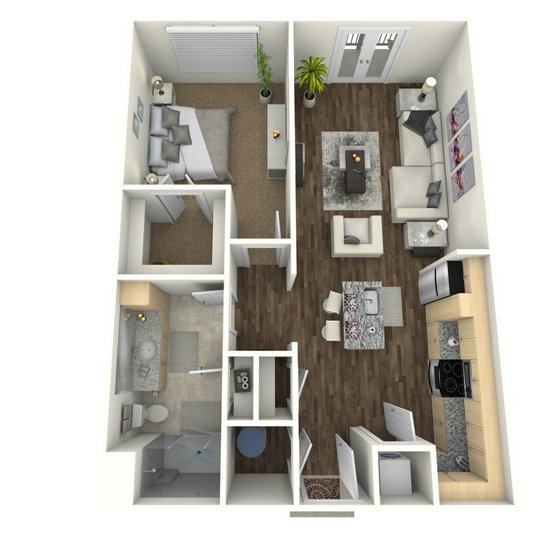 1 Bedroom 1 Bathroom Apartment for rent at The Orion Apartments in St Louis, MO
