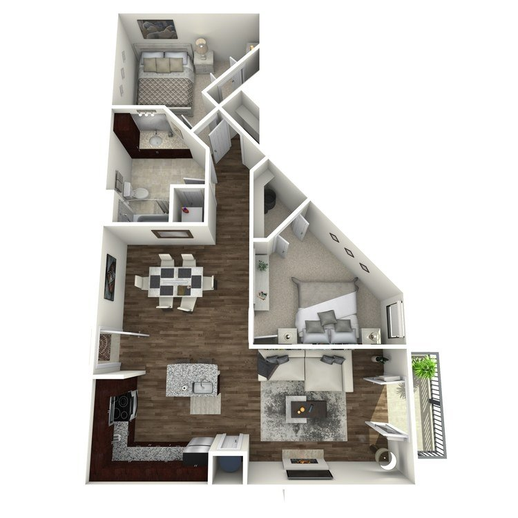 2 Bedrooms 1 Bathroom Apartment for rent at The Orion Apartments in St Louis, MO
