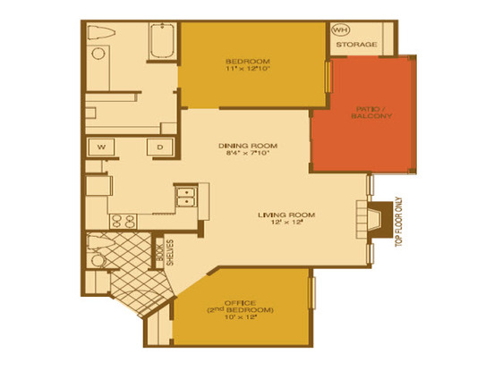 2 Bedrooms 1 Bathroom Apartment for rent at Riata in Austin, TX