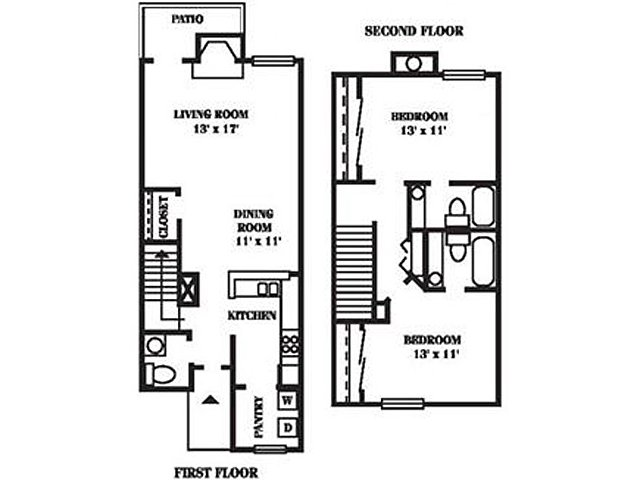 2 Bedrooms 2 Bathrooms Apartment for rent at Hawthorne At The View in Durham, NC