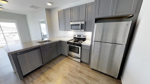 2 Bedrooms 2 Bathrooms Apartment for rent at Red Cedar Flats in East Lansing, MI