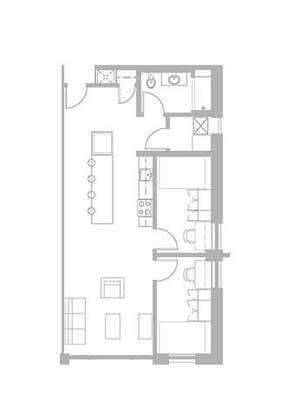 2 Bedrooms 1 Bathroom Apartment for rent at Zaragon Place in Ann Arbor, MI