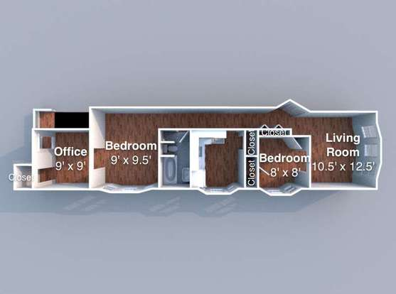 2 Bedrooms 1 Bathroom Apartment for rent at Reifer in Lafayette, IN