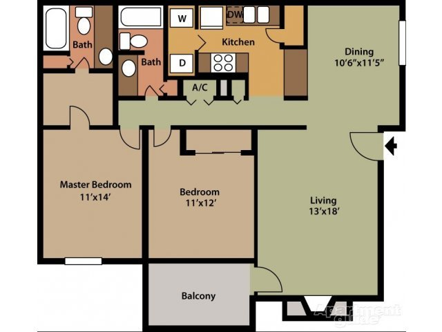2 Bedrooms 2 Bathrooms Apartment for rent at Hickory Knoll Apartments in Birmingham, AL