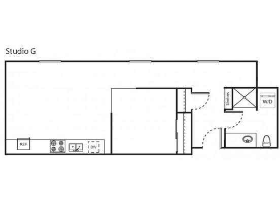 Studio 1 Bathroom Apartment for rent at Marketside Flats Llc in Seattle, WA
