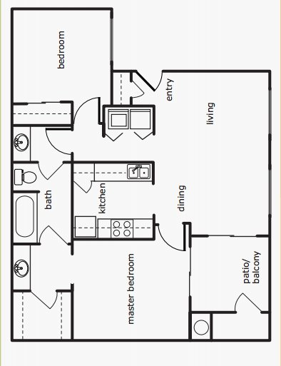 2 Bedrooms 2 Bathrooms Apartment for rent at Park At Emerald Village in Springfield, OR
