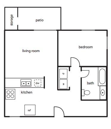 1 Bedroom 1 Bathroom Apartment for rent at Green Leaf Village in Eugene, OR