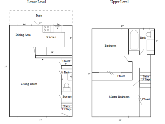 2 Bedrooms 2 Bathrooms Apartment for rent at Four Seasons Townhouses in Eugene, OR