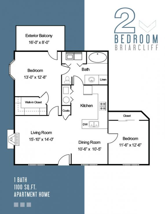 2 Bedrooms 1 Bathroom Apartment for rent at The Fields in Bloomington, IN
