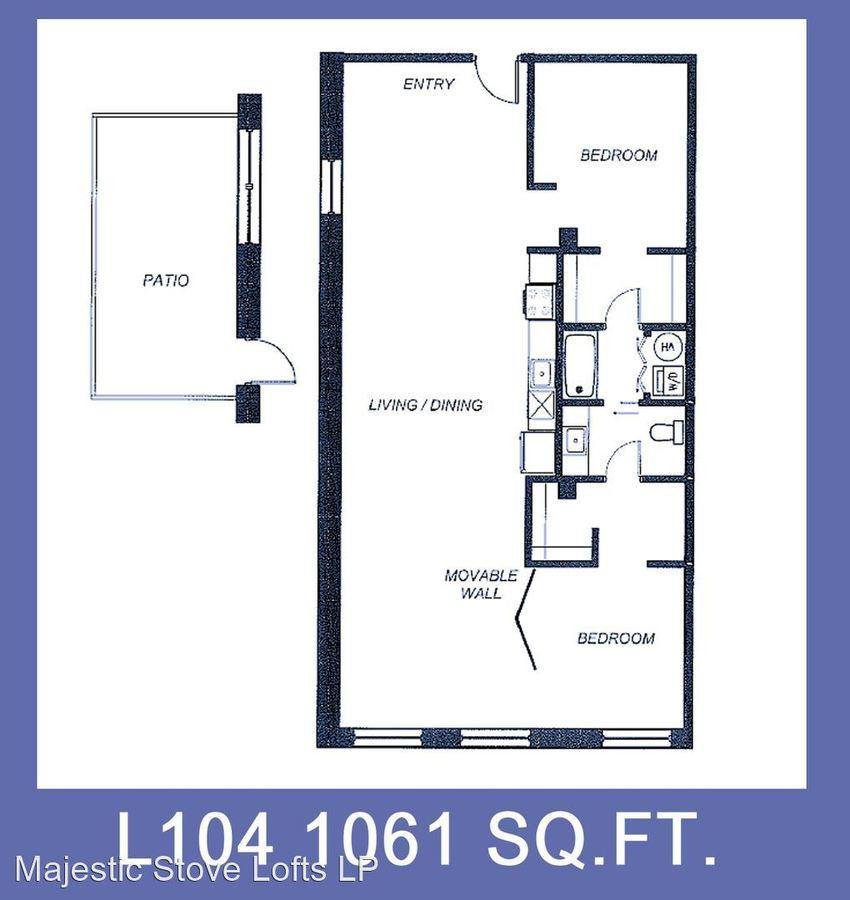 2017 Washington Ave St Louis, MO Apartment For Rent