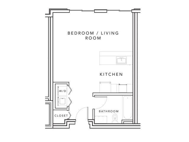 Studio 1 Bathroom Apartment for rent at Stonefire in Berkeley, CA