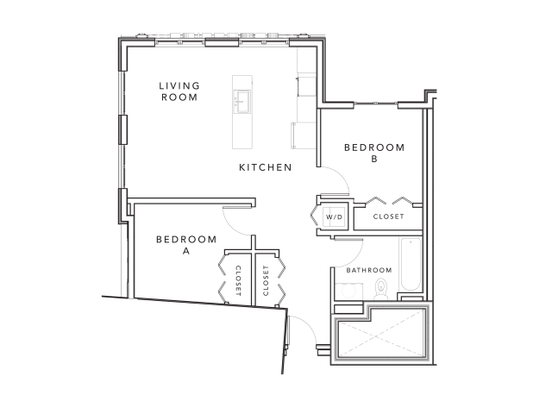 2 Bedrooms 1 Bathroom Apartment for rent at Stonefire in Berkeley, CA