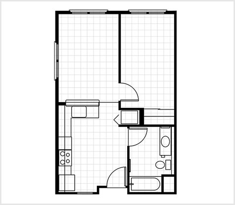 1 Bedroom 1 Bathroom Apartment for rent at The Delaware in Berkeley, CA