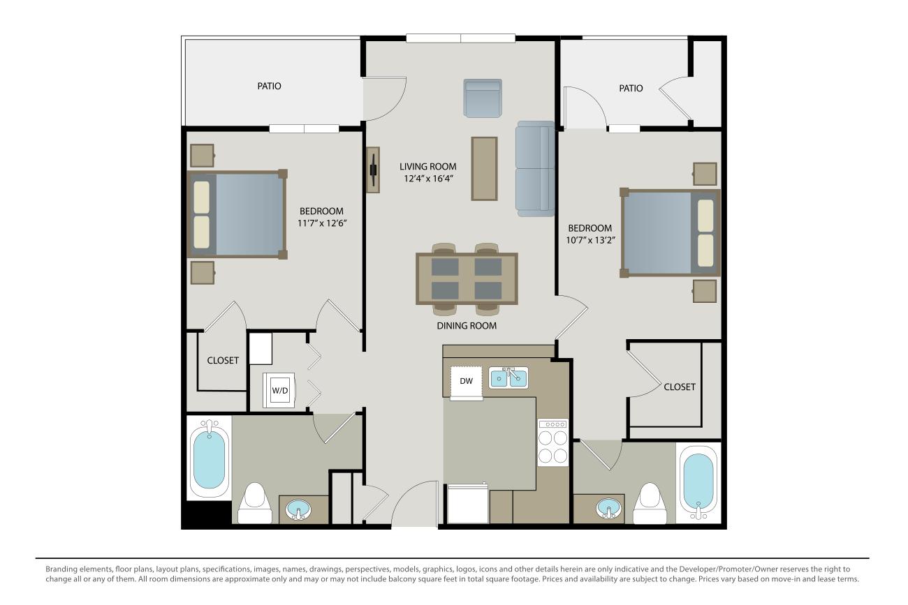 2 Bedrooms 2 Bathrooms Apartment for rent at Villa Granada in Santa Clara, CA