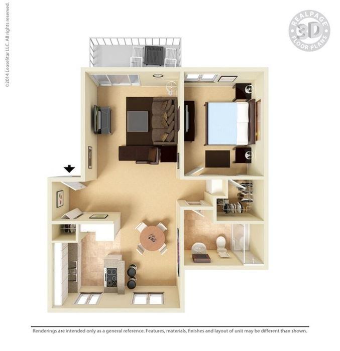1 Bedroom 1 Bathroom Apartment for rent at Lawrence Road Apartments in Santa Clara, CA