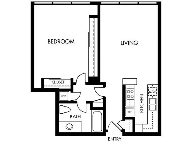 1 Bedroom 1 Bathroom Apartment for rent at 1900 Ocean Beach Club in Long Beach, CA