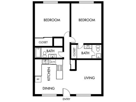 2 Bedrooms 2 Bathrooms Apartment for rent at Sandpointe in Huntington Beach, CA