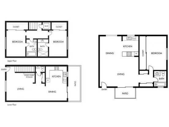 2 Bedrooms 2 Bathrooms Apartment for rent at Pruneyard West in Campbell, CA