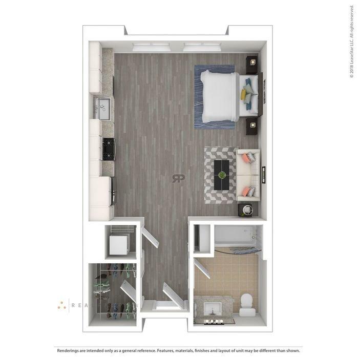 Studio 1 Bathroom Apartment for rent at Turing in Milpitas, CA